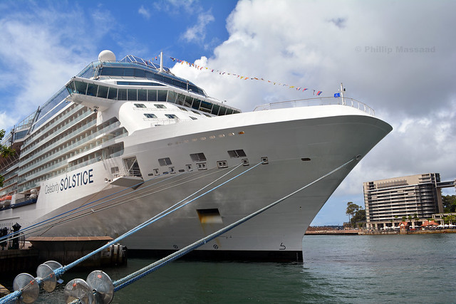 Celebrity Solstice bow view 1