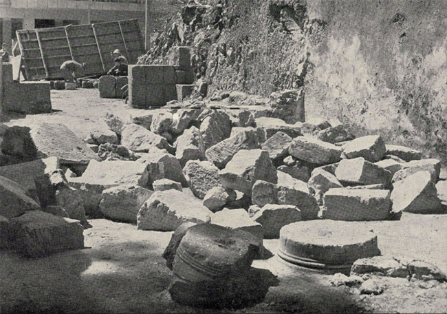 Jerusalem-Jasons-Tomb-excavations-1956-at-1