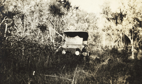 'Where have the roads gone', Longreach to Darwin Survey for aerodromes and supply depots, 1919, Hudson Fysh | by State Library of New South Wales collection