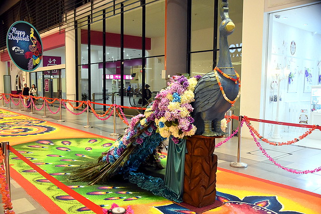Diwali 2016 Decoration, Kuala Lumpur, Malaysia.
