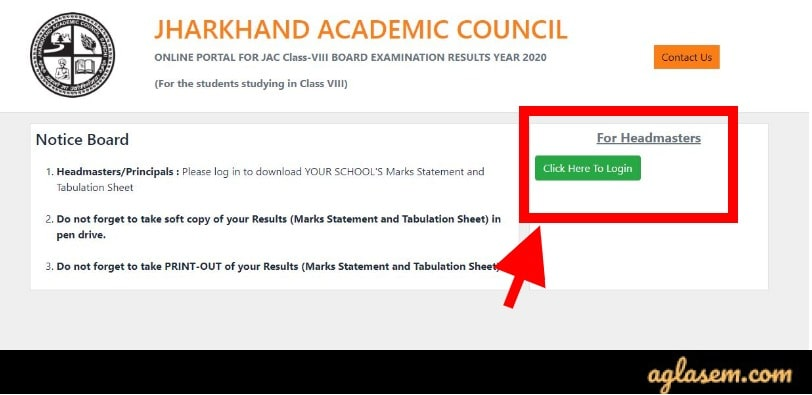 JAC 8th Result 2020 (Out) - Check Jharkhand Class 8th Result 2020 at jac.jharkhand.gov.in