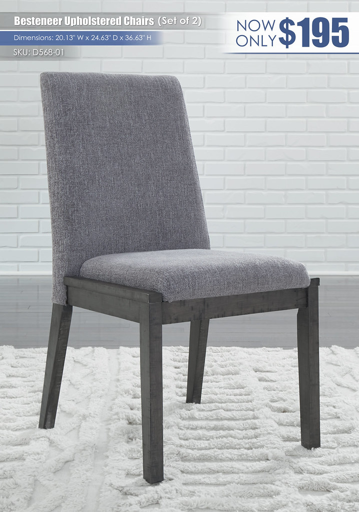 Besteneer Upholstered Dining Chairs_D568-01