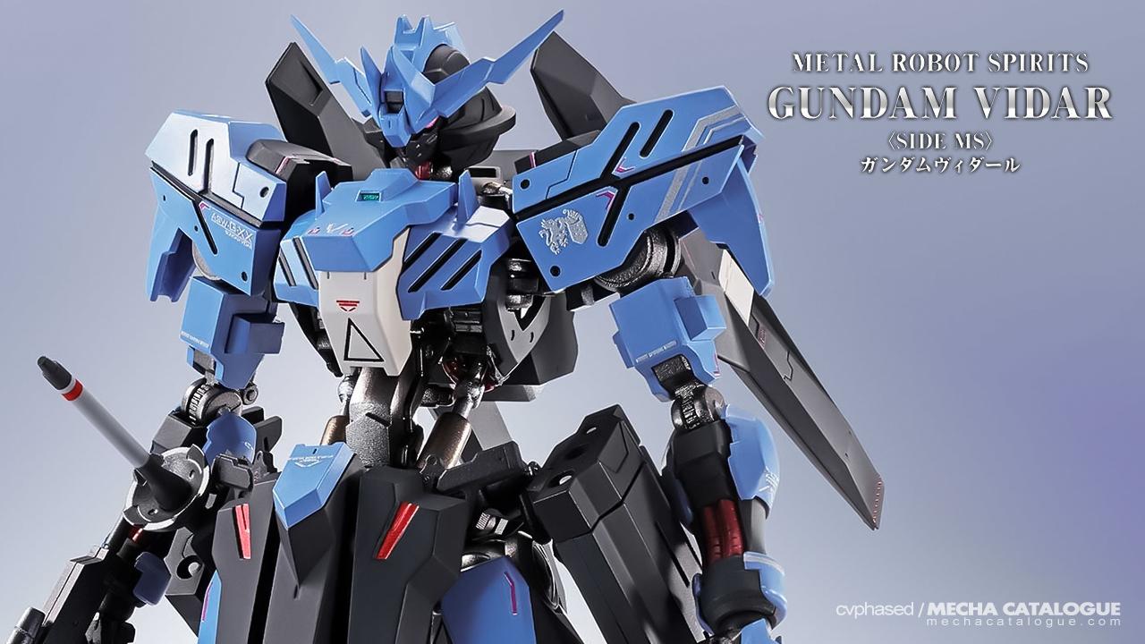 Ein is Here! Metal Robot Spirits <Side MS> Gundam Vidar