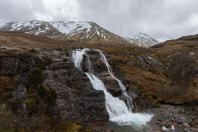 Glencoe Waterfall - Scotland