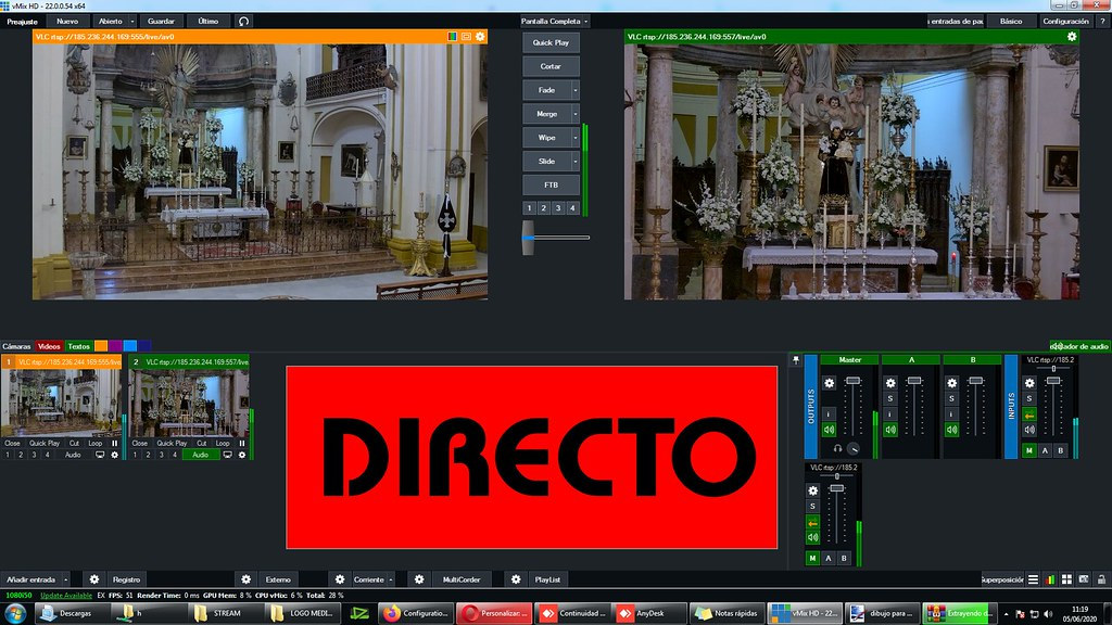 Medial TV dará en DIRECTO la función principal de San Antonio