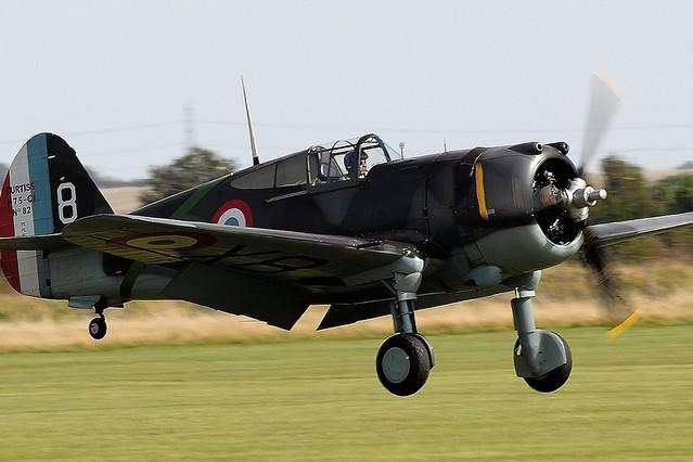 Curtiss Wright Hawk 75 G-CCVH