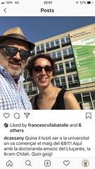 Tuit meu sobre la participació a Nanterre