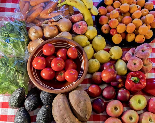 Love my fruits, veggies & roots !