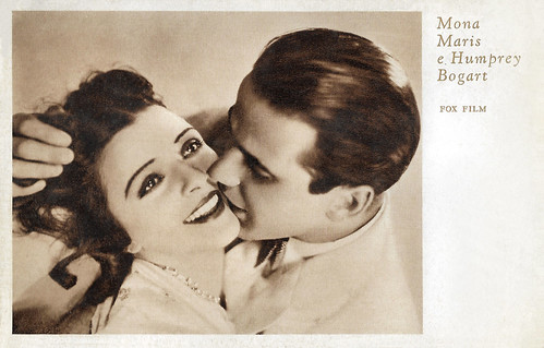Mona Maris and Humphrey Bogart in A Devil with Women (1930)
