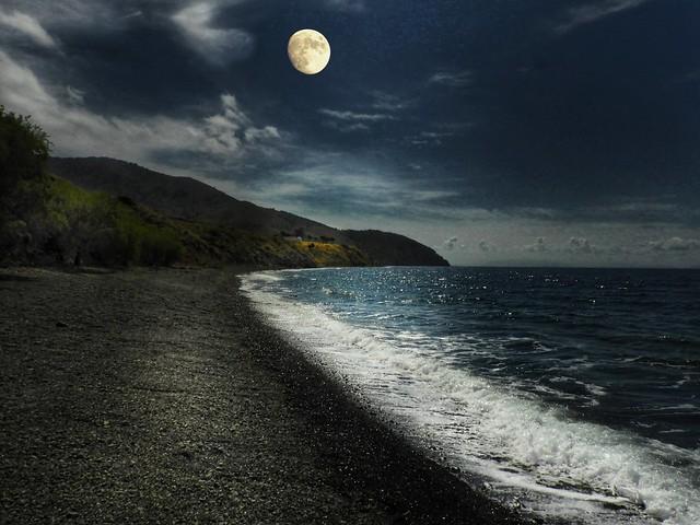 🇬🇷Greek evening landscape.