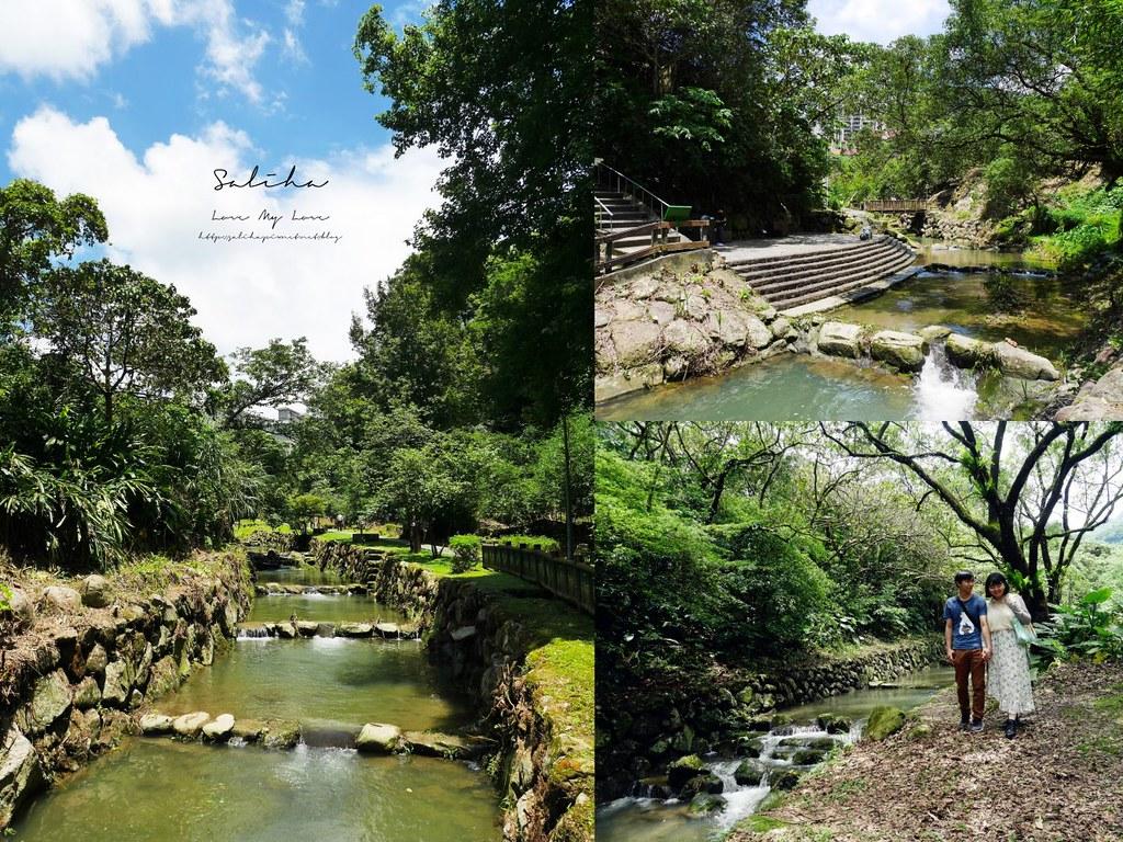 台北文山區木柵政大散步景點推薦小坑溪親水文學步道好玩好拍玩水 (2)