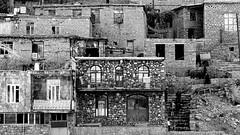 Dans les escaliers (Palangan, Iran)