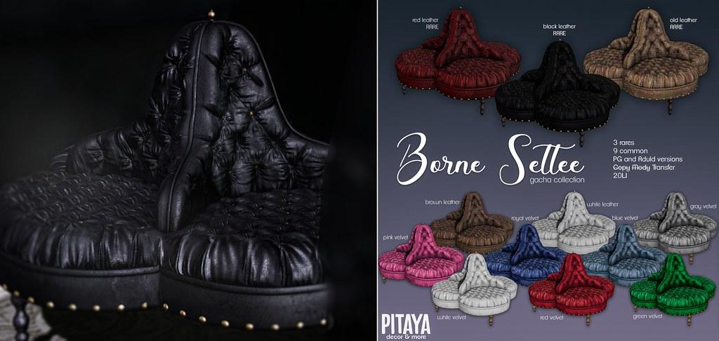 Pitaya – Borne Settee Gacha key