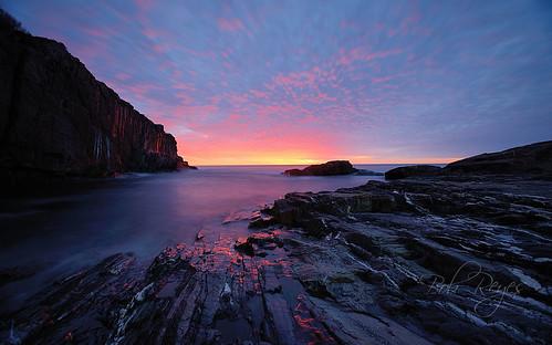 york capeneddick maine sunrise sunset cliffs baldhead reyes nikon d800 cielo clouds sky ocean alba mar nubes
