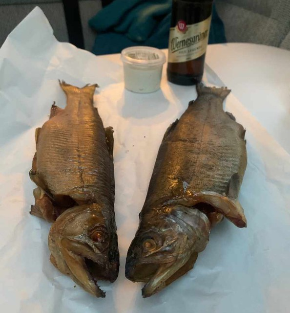 Und Freitag gibt es Fisch 😋
