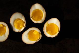 jammy soy eggs