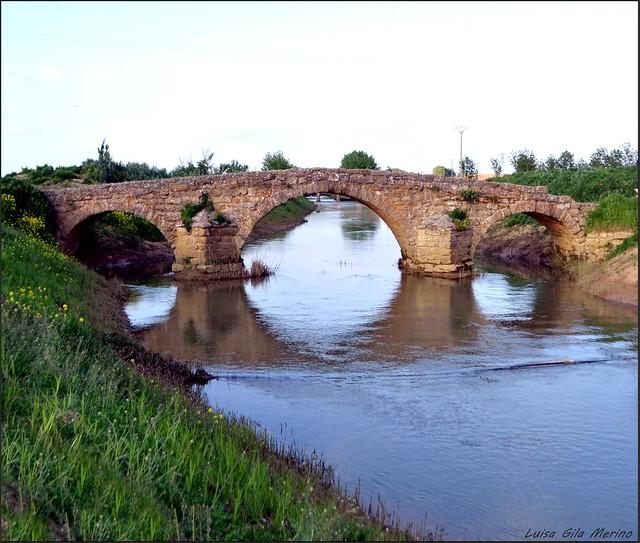 Puente romano sobre el Valderaduey