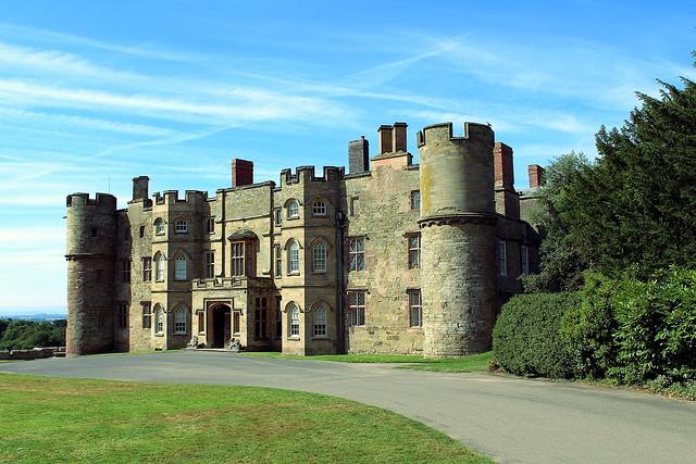 Croft Castle (National Trust N.T.) Near Leominster, Herefordshire,  England - 16.8.2016