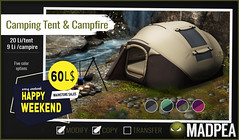 MadPea Camping Set for Happy Weekend!