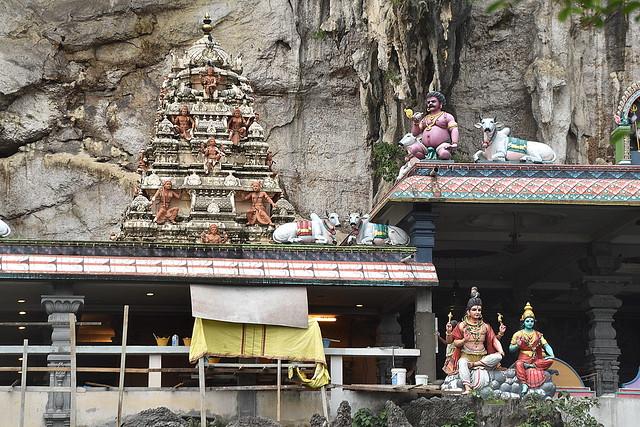 Hindi Shrine at Batu Caves, Kuala Lumpur, Malaysia.
