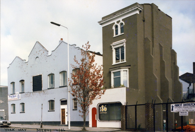 York Way, Camden, 1986 TQ3084-008
