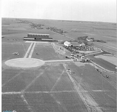 Aalborg Airport just after its opening in 1938.