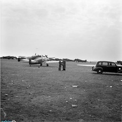 German transport and communications aircraft at Aalborg on the first day of the occupation. Tony and Rossy would have seen a similar sight on their recce of Aalborg.