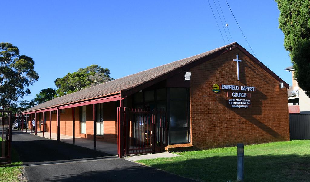 Fairfield Baptist Church, Fairfield, Sydney, NSW.