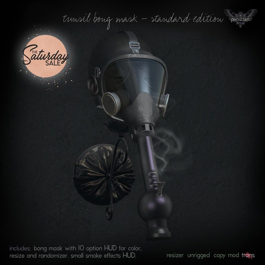 PROMO tunsil bong mask