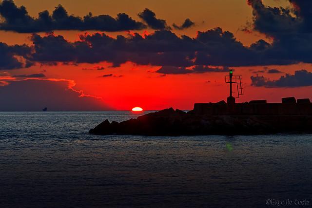 Tramonto siciliano (3) - Sicilian sunset (3)