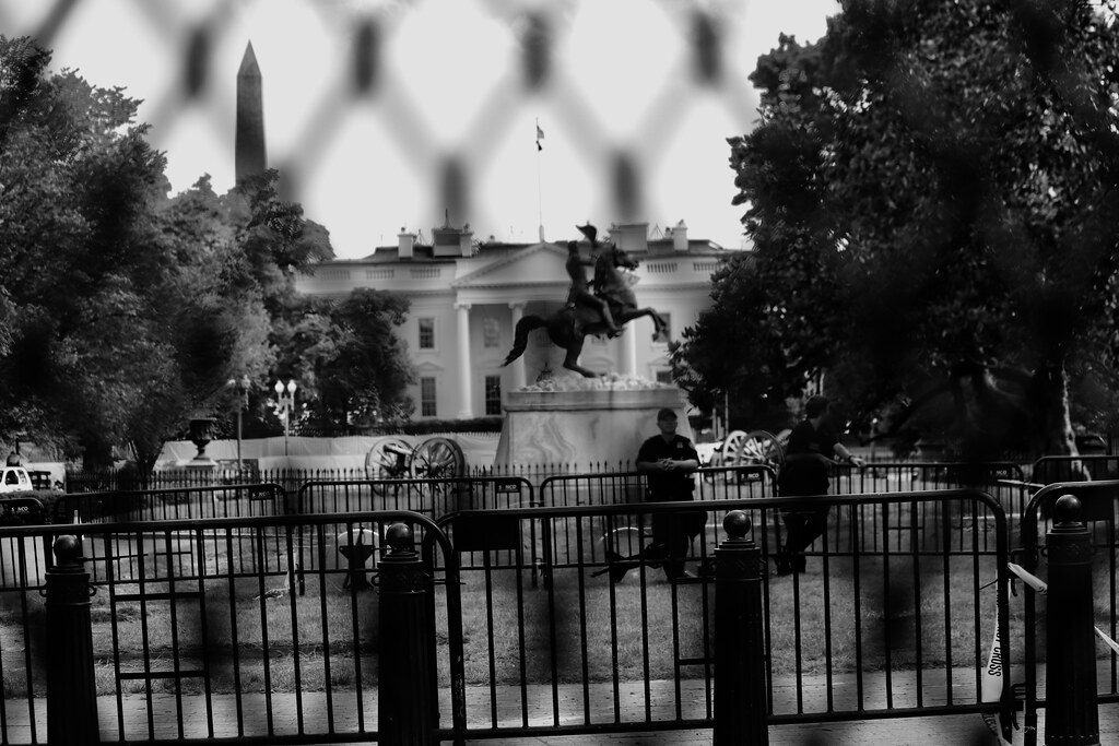White House under siege