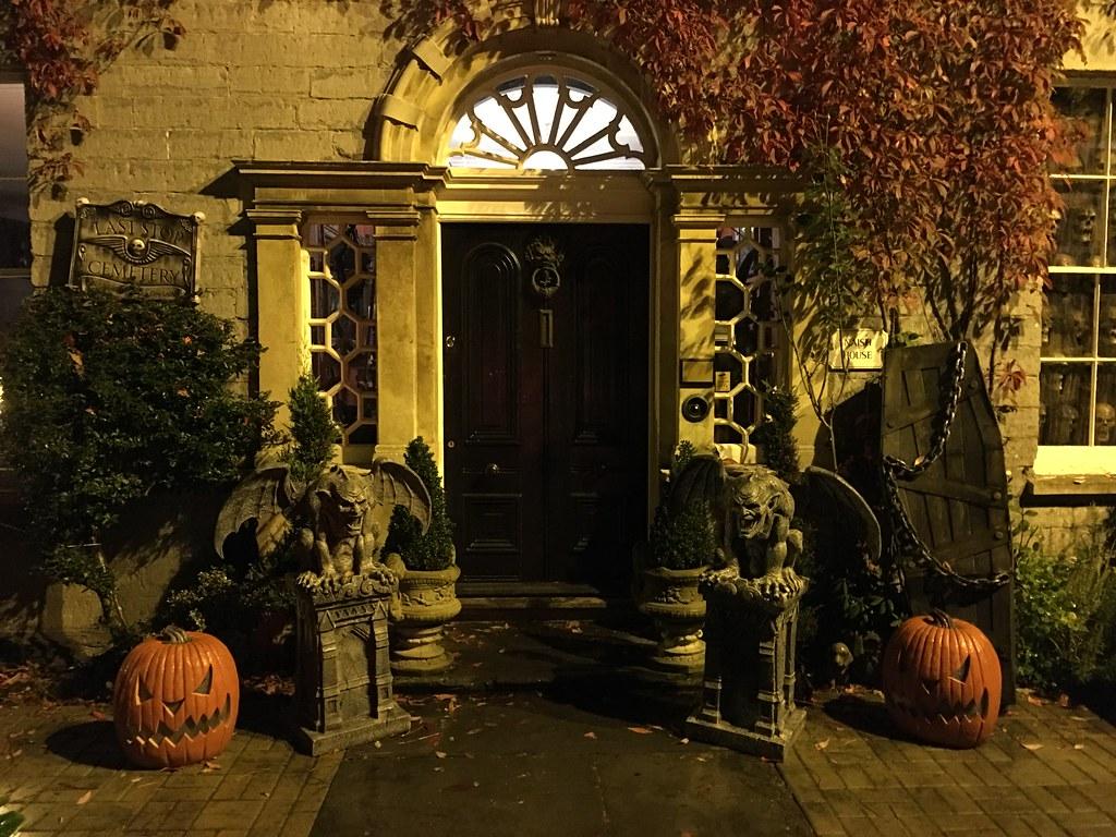 Halloween in Glastonbury, UK
