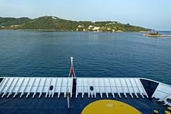 The Ferry Leaves Skiathos Harbour (Greece) Panasonic TZ200