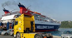 Loading Up The Ferry ( Skiathos Harbour - Greece) Panasonic Lumix TZ200