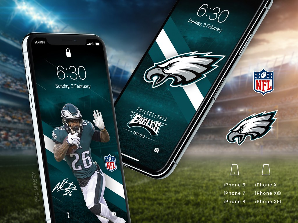 Philadelphia Eagles Iphone Wallpapers Iphone X Xs Xr Also Flickr