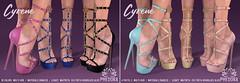 "Phedora. for FaMESHed - ""Cyrene"" Heels ♥"