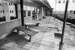 södra huset - Innergård för rökare