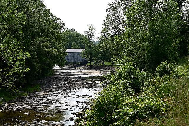 Covered Bridge over Locust Creek