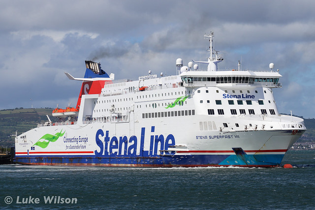 Stena Superfast VII, Belfast