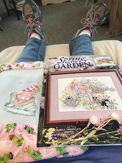 Spring In The Garden by Donna Vermillion Giampa - Leisure Arts - Thursday June 4, 2020jpg