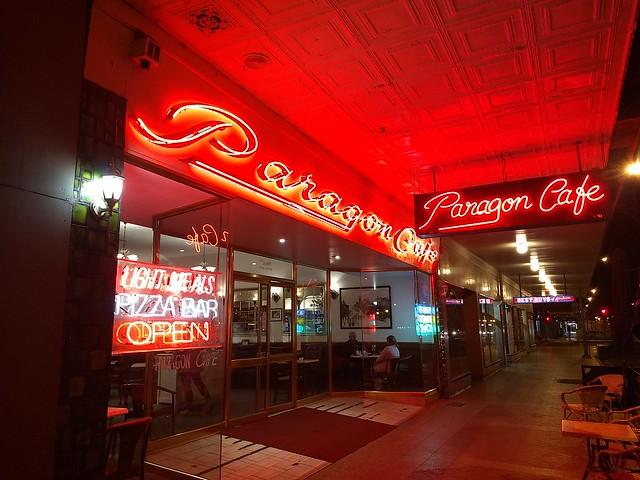 The famous Paragon Cafe, Goulburn,