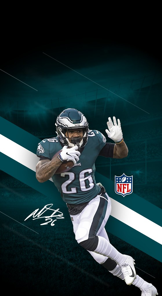 26 Miles Sanders Philadelphia Eagles Iphone X Xs Xr Wallpaper A Photo On Flickriver