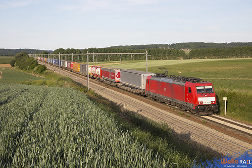 186 333 . DB Cargo . E 42580 . Berneau . 31.05.20.