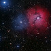 M20 Trifid Nebula / Trifidnebel