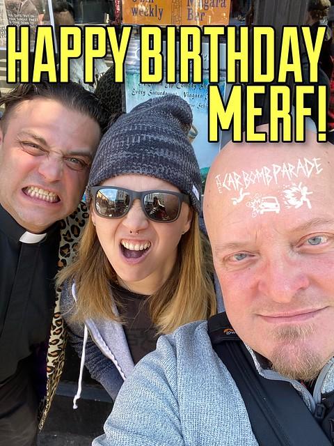 Happy Birthday Merf