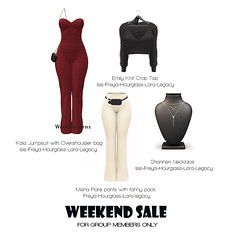 50 Lindens Weekend Sale