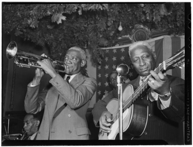 Bunk Johnson And Lead Belly