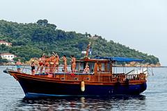 Party Boat (Skiathos Harbour - Greece) Panasonic Lumix TZ200 Compact