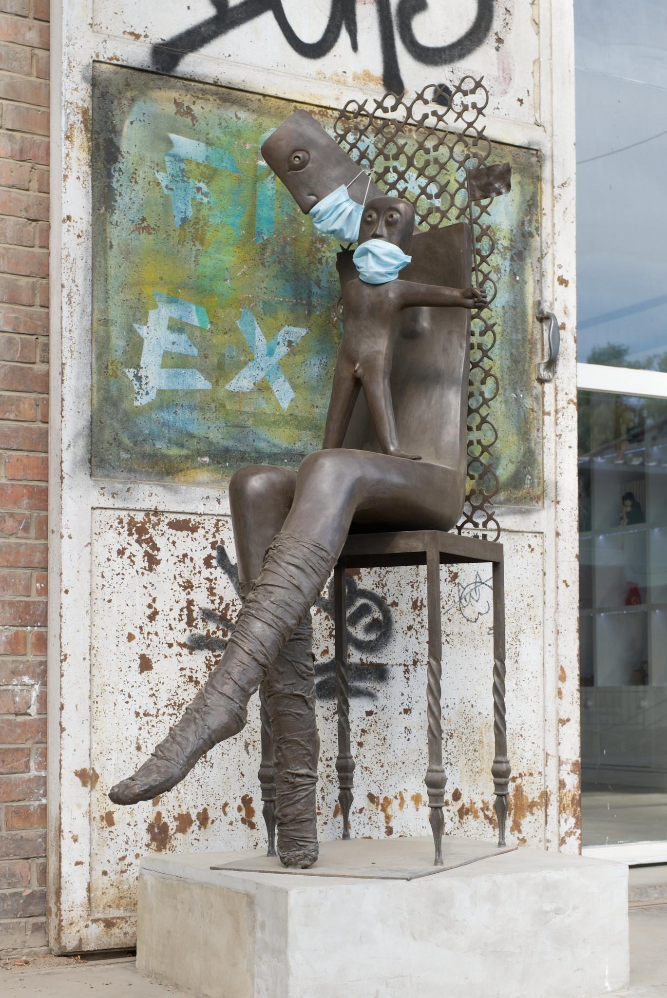 798 skulptur maske