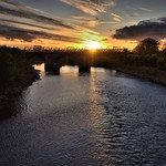 Low Sun over the Ribble at Preston